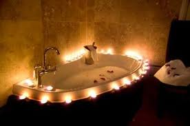There was a woman in this bath, but she was boiled into oblivion...God rest her...